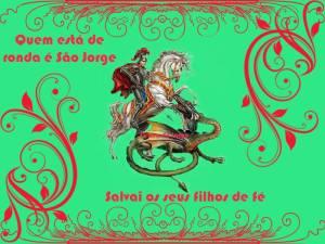 Grande santo guerreiro muito cultuado e venerado no Brasil e em diversos outros países.